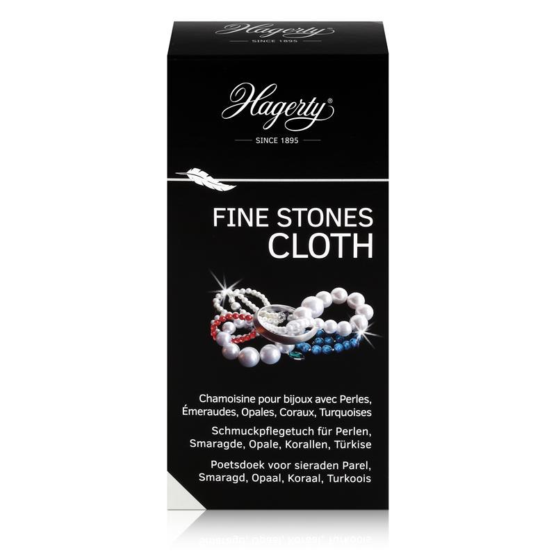 Hagerty Fine Stones Cloth - Schmuckpflegetuch für Perlen 36x30cm