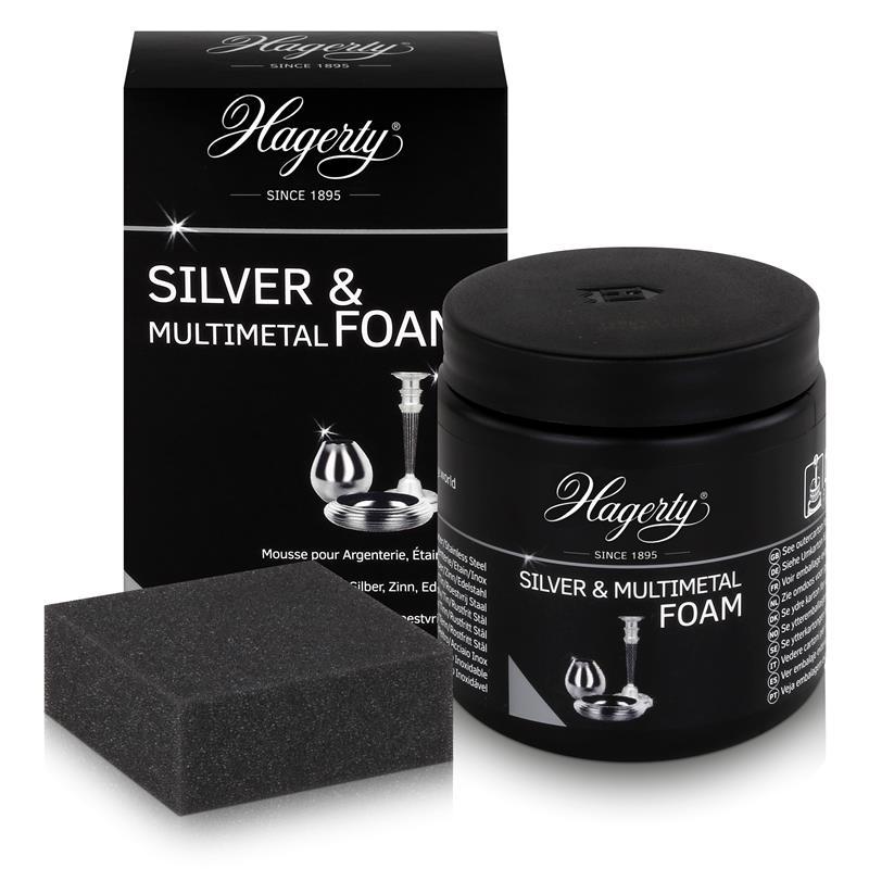 Hagerty Silver & Multimetal Foam - Pflegeschaum für Silber 185g