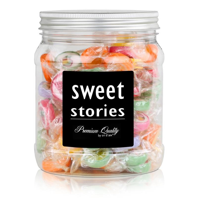 Sweet Stories Rocks Bonbons Bunter Mix in einer Retrodose 370g