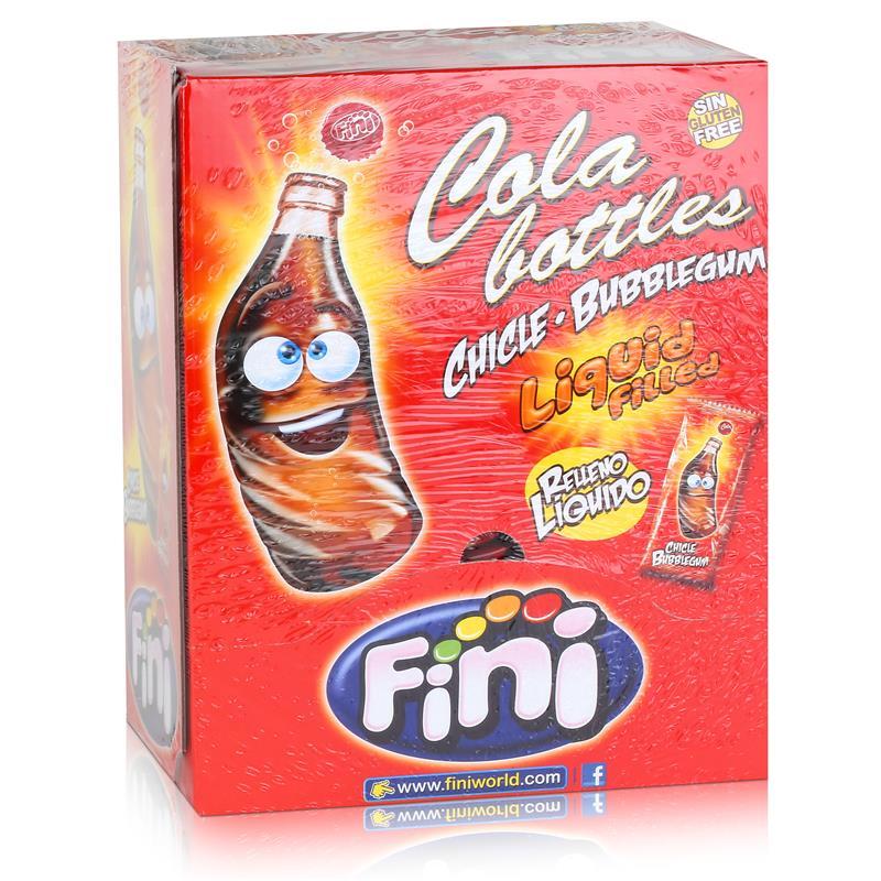 Fini Cola Bottles Bubblegum Kaugummis 200 Stück