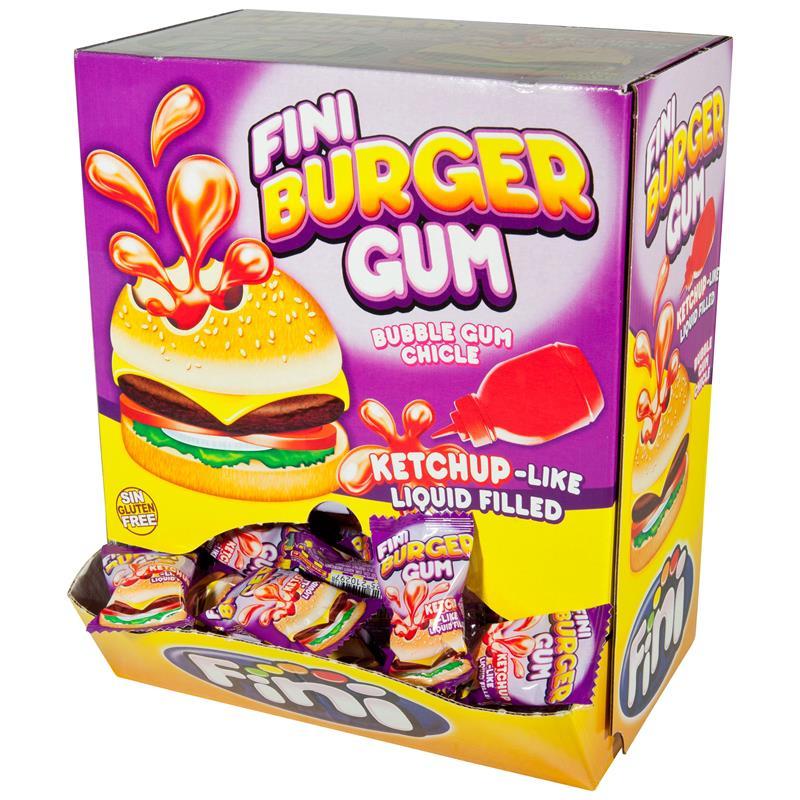 Fini Burger Gum Kaugummis 200 Stück