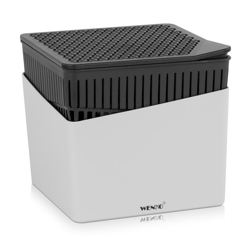 Wenko Luftentfeuchter Design Cube 1000g - Grau