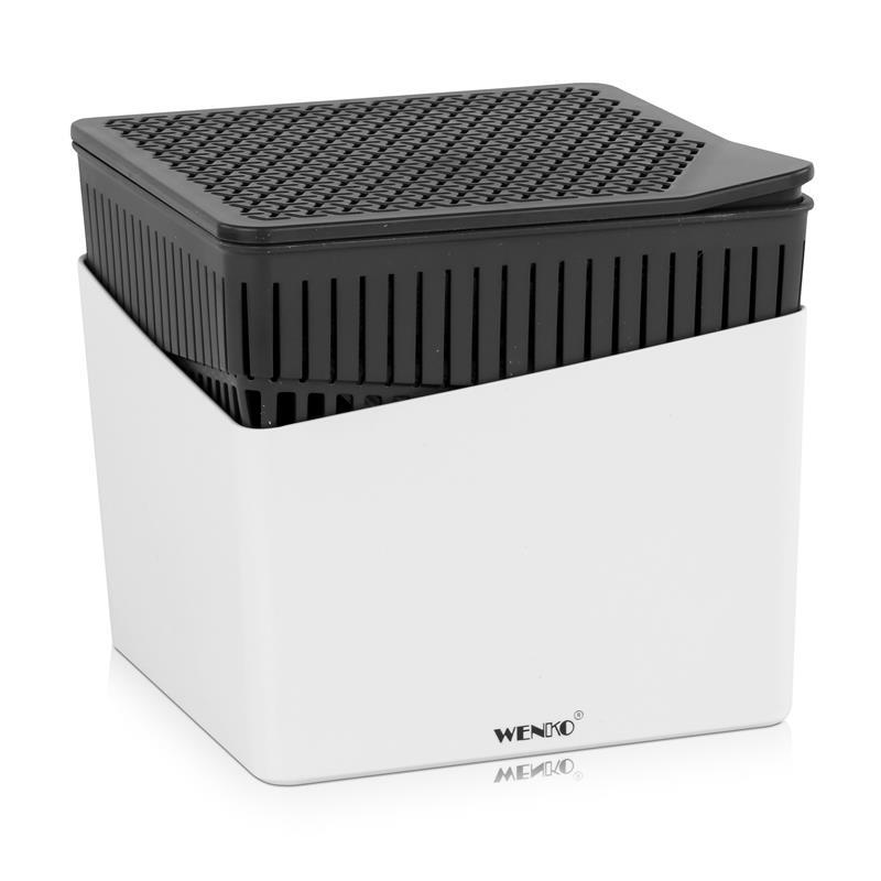 Wenko 50220100 Design Raumentfeuchter Cube 1000g - Weiß