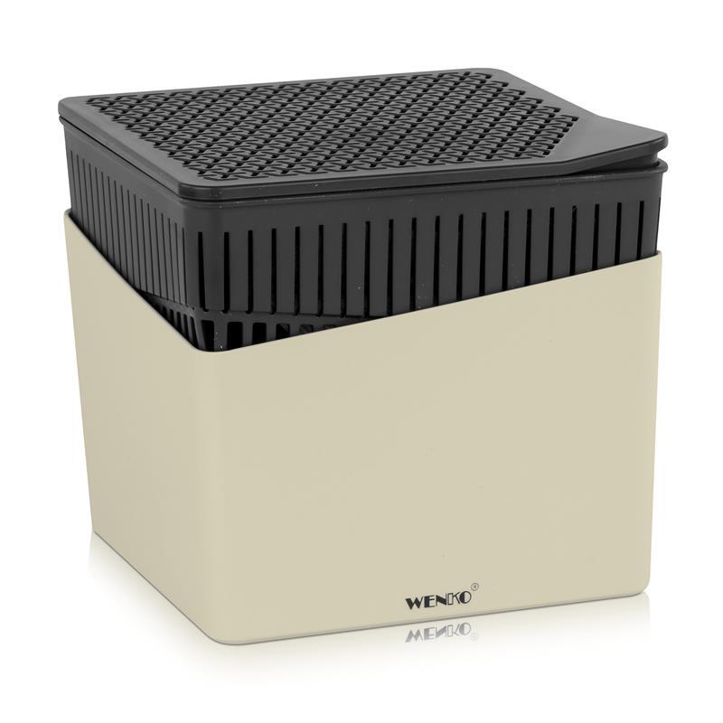 Wenko 50222100 Design Raumentfeuchter Cube 1000g - Beige