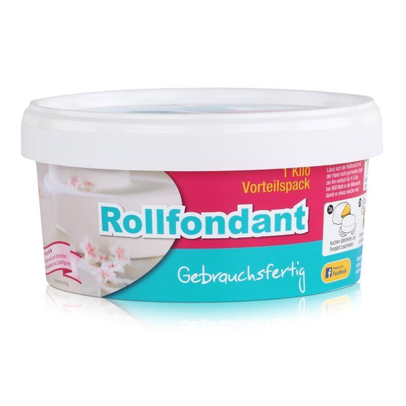 Dekoback Decocino Rollfondant Rosa 1kg - Kreativ backen (1er Pack)