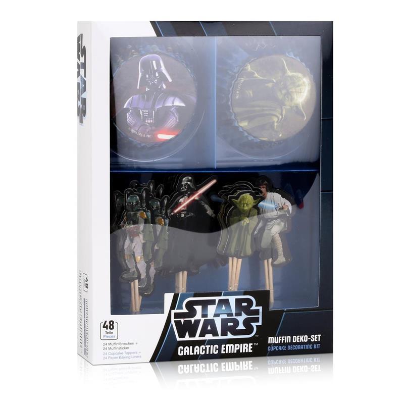 Dekoback Decocino Star Wars Muffin Set - 24 Papier-Muffinförmchen (1er Pack)
