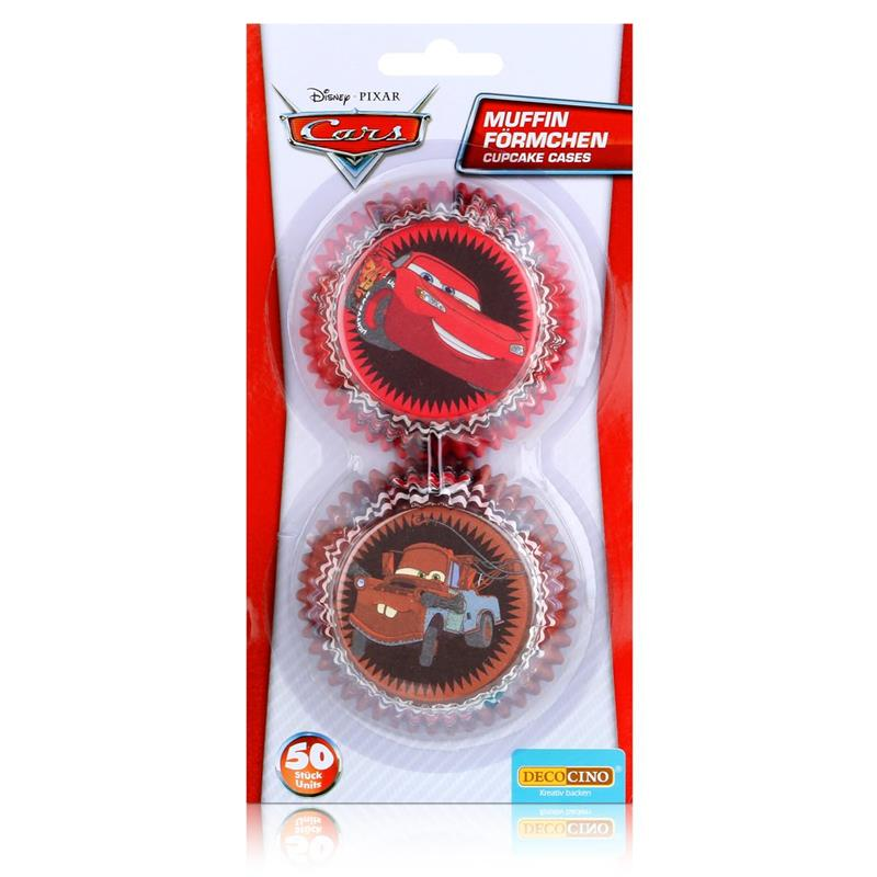 Dekoback Decocino Cars Muffin-Formen 50 Stück
