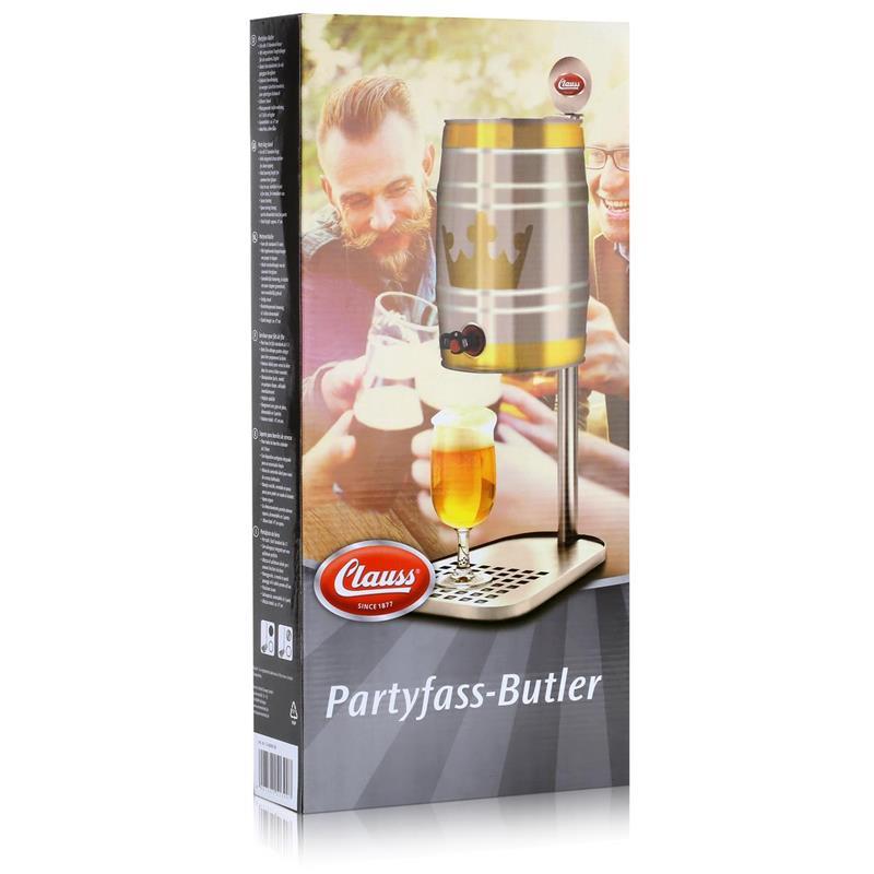 Clauss CL-60000 00 Bierfasshalter für Standard 5L Fässer