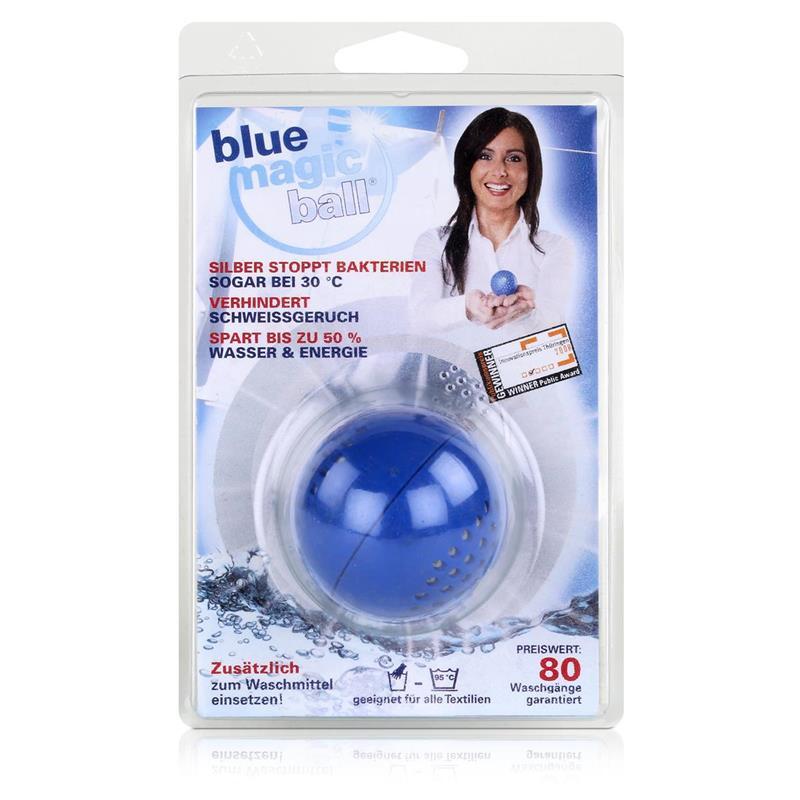 Blue Magic Ball - Waschkugel für ca. 80 Waschgänge-Für alle Textilien (1er Pack)