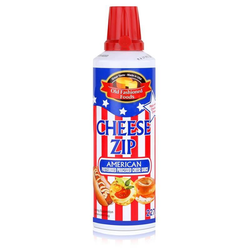 Old Fashioned Foods Cheese Zip 227g Cheddar