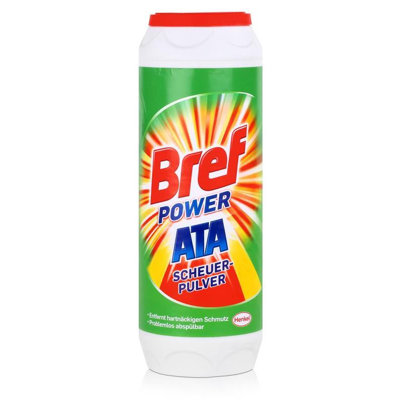 Henkel Bref PowerATA Scheuerpulver 500g - Mit Zitrusfrische