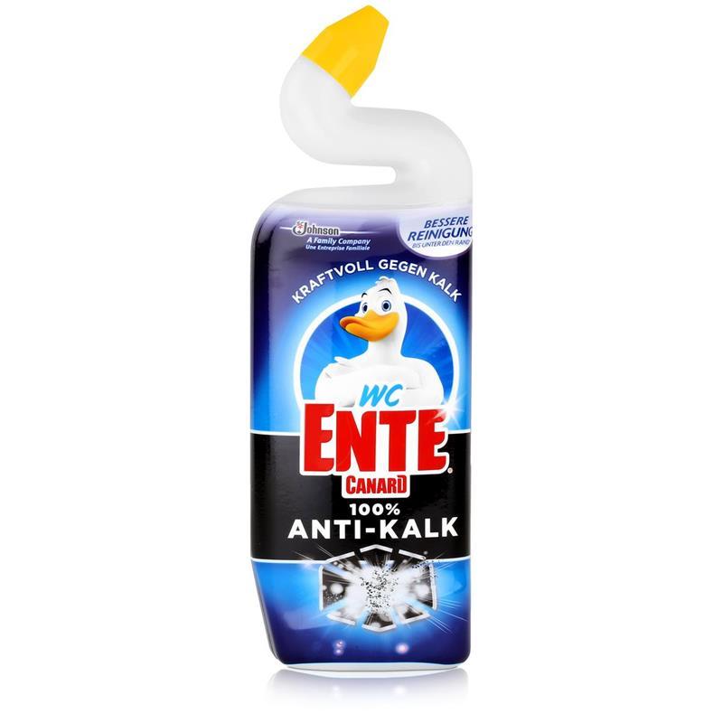 WC Ente 100% Anti-Kalk 750ml - Kraftvoll gegen Kalk
