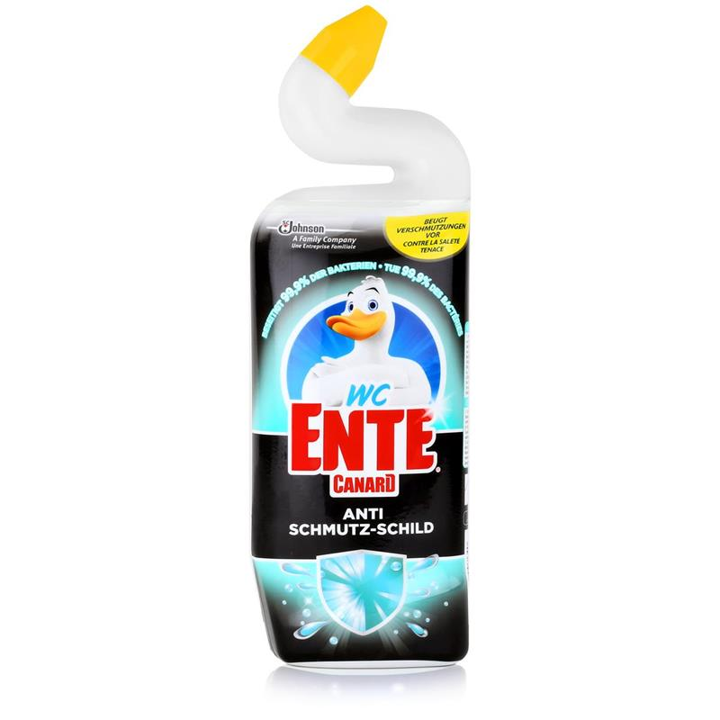 WC Ente Anti Schmutz-Schild 750ml - Beseitigt 99,9% der Bakterien (1er Pack)