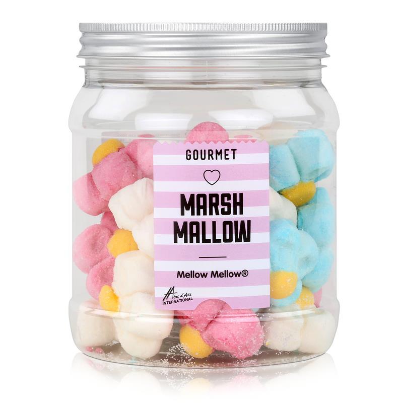 Mellow Marshmallow Margeriten in einer Retrodose 160g (1er Pack)