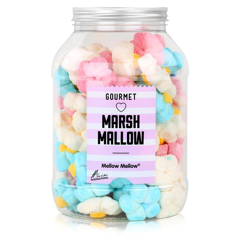 Mellow Marshmallow Margeriten in einer Retrodose 720g (1er Pack)