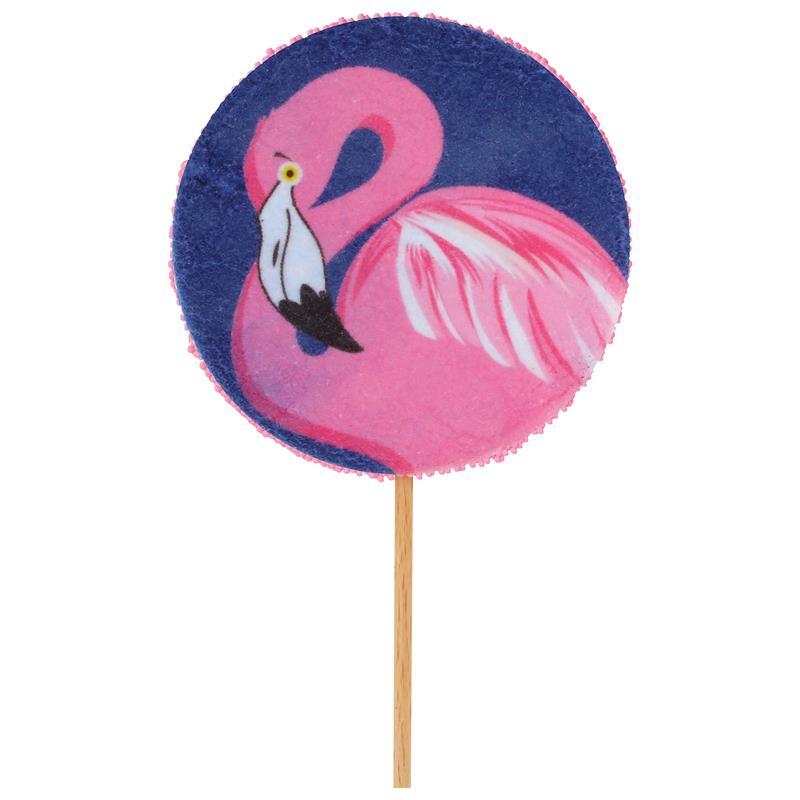 Mellow Mellow Flamingo Lolly 28g - Schaumzucker Flamingo Lollie