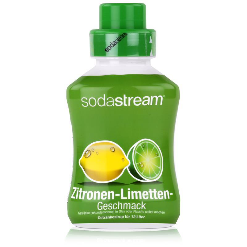 SodaStream Getränke-Sirup Softdrink Zitronen-Limetten Geschmack 500ml