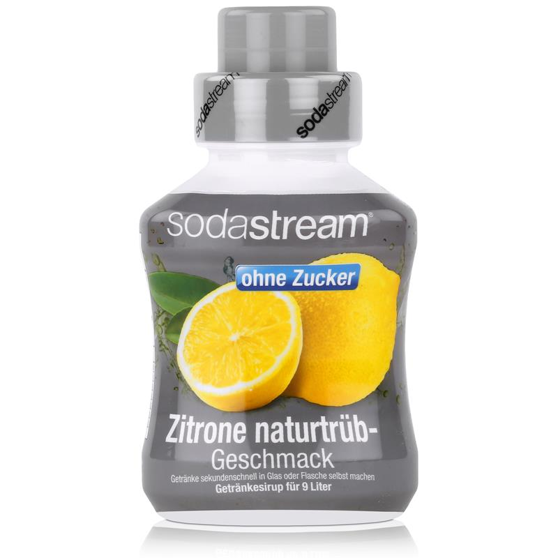 sodastream sirup ohne zucker zitrone naturtr b geschmack 375ml 1er pack. Black Bedroom Furniture Sets. Home Design Ideas