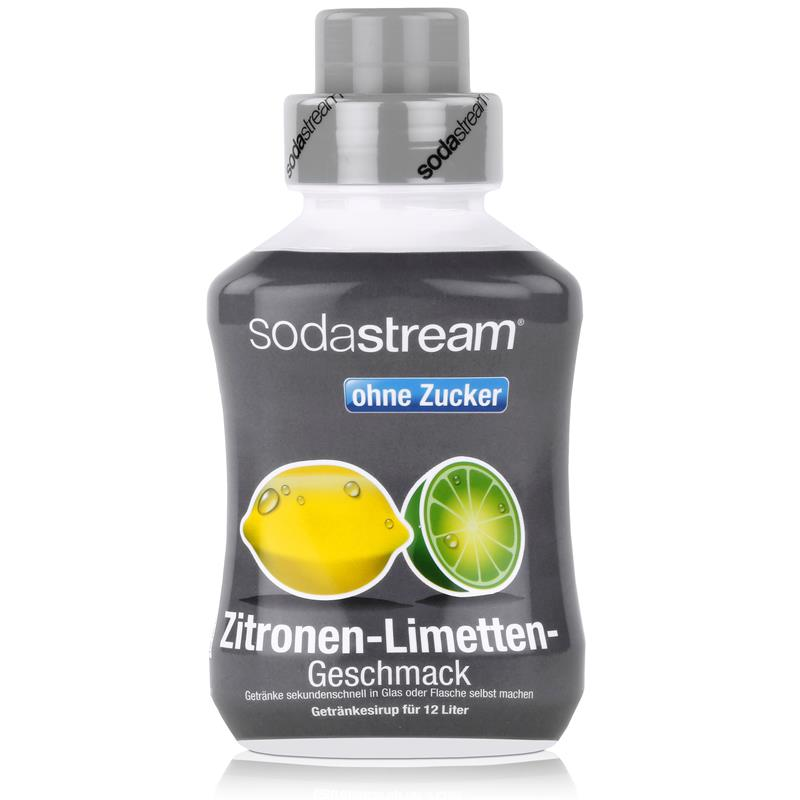 sodastream getr nke sirup ohne zucker zitronen limetten. Black Bedroom Furniture Sets. Home Design Ideas