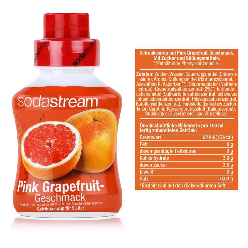 SodaStream Sirup Pink Grapefruit 375ml