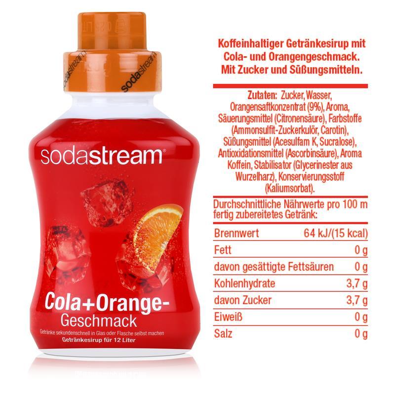 SodaStream Sirup Cola+Orange 500ml