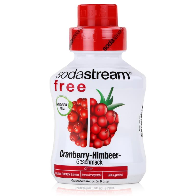 SodaStream Sirup free Cranberry-Himbeer 375ml