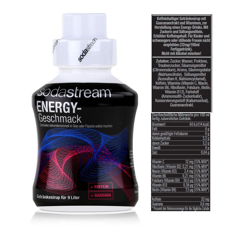 SodaStream Sirup Energy 375ml Flasche