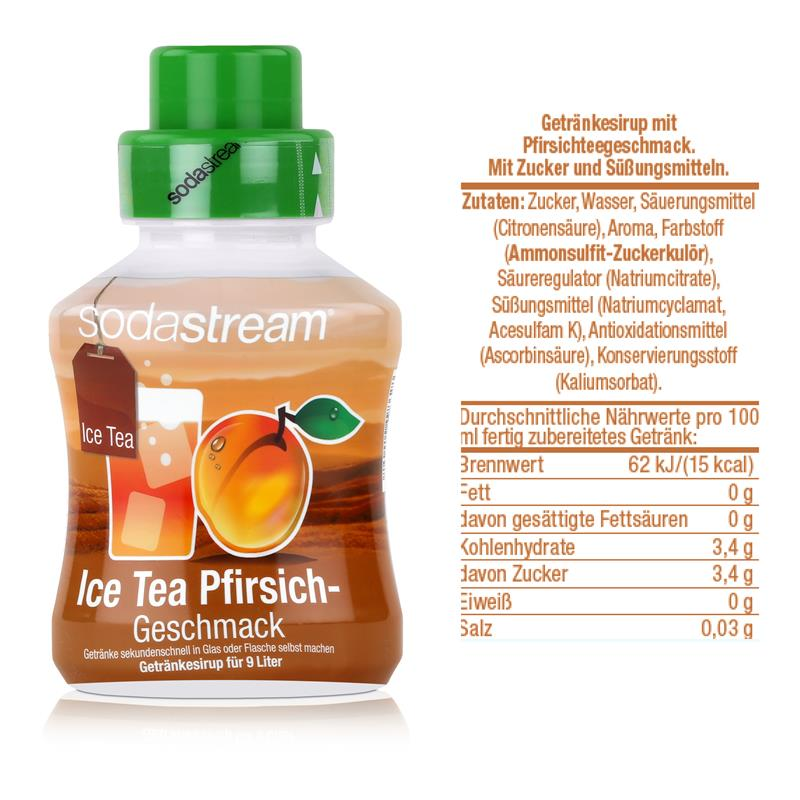 SodaStream Sirup Ice Tea Pfirsich 375ml