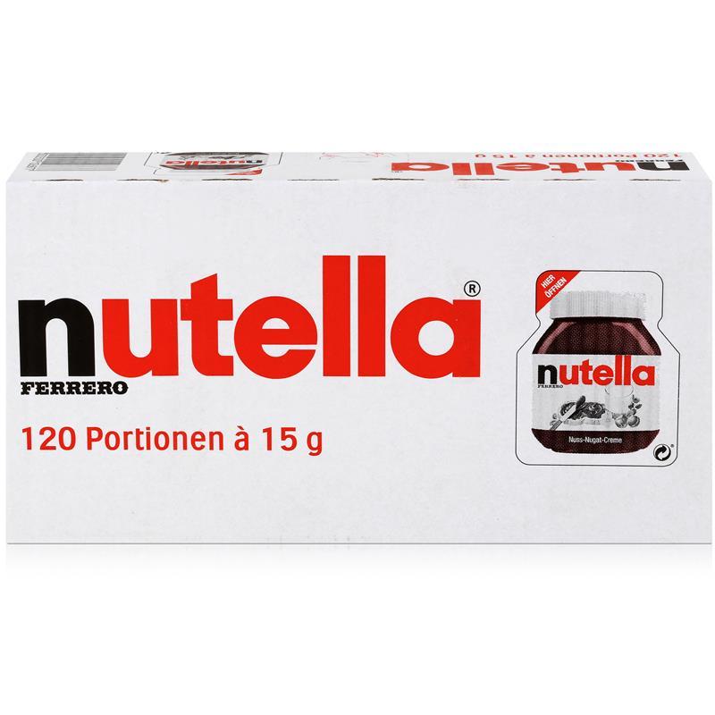 Ferrero Nutella Mini Brotaufstrich Schokolade 120x15g