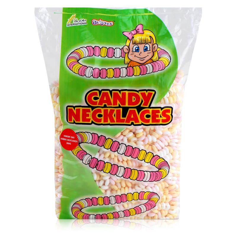 Sweet Stories Traubenzuckerketten 1,68 kg - Candy Necklaces