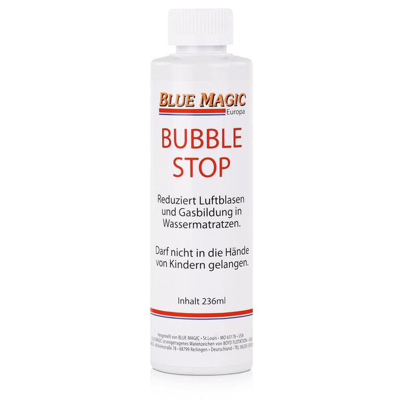 Blue Magic Bubble Stop für Wasserbetten 236ml - Reduziert Luftblasen (1er Pack)