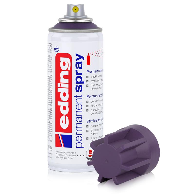 edding Permanent Spray lila 200 ml