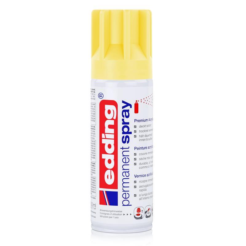 edding Permanent Spray pastellgelb 200 ml