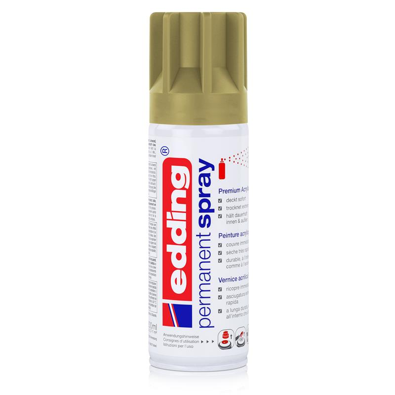 edding Permanent Spray khaki 200 ml