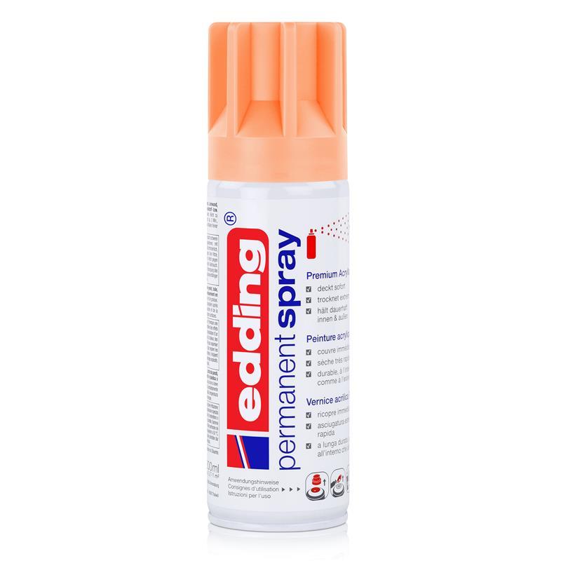 edding Permanent Spray powdery peach 200 ml