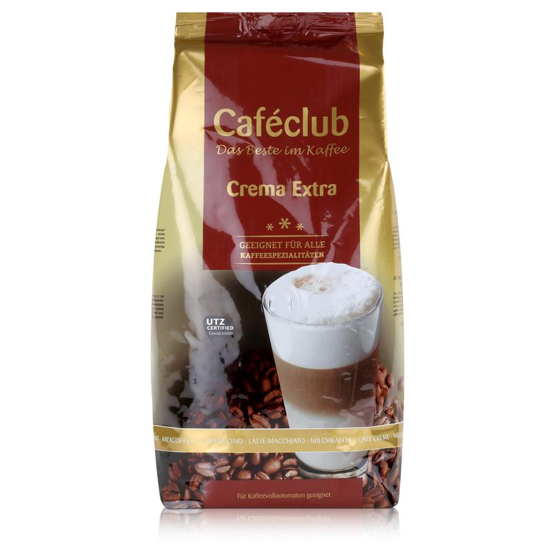 Cafeclub Crema Extra Kaffee-Bohnen 1kg