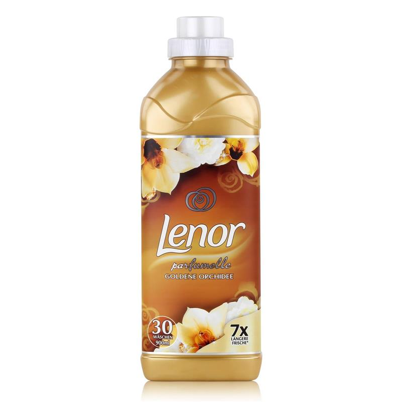 Lenor Goldene Orchidee Weichspüler 900 ml / 30 WL/7x längere Frische