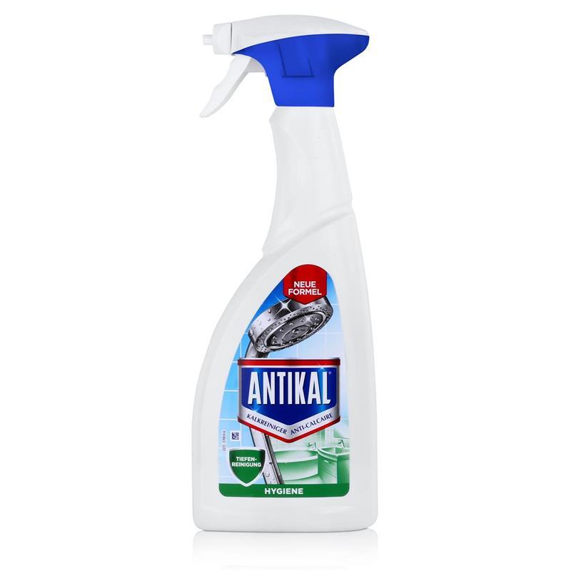 Antikal Kalkreiniger Hygien Spray 700ml - Entfernt Kalk