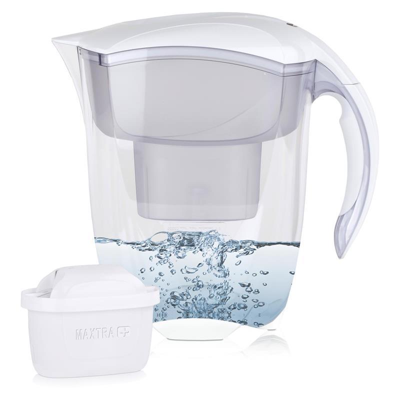 BRITA Elemaris XL 3,5L Wasserfilter weiß & 1x Maxtra+ Kartusche