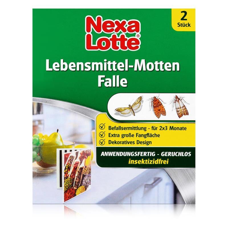 Nexa Lotte Lebensmittel-Motten Falle 2 Stück