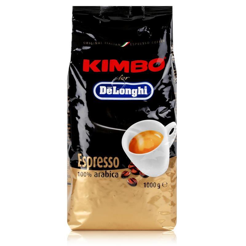 Delonghi Kimbo Espresso 1kg - Kaffeebohnen 100% arabica Bohnen