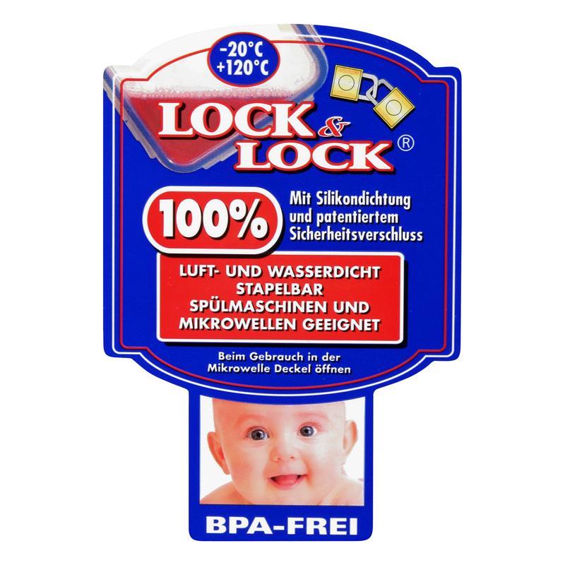 Lock&Lock HPL834 Multifunktionsbox 3,9L - Luft und Wasserdicht