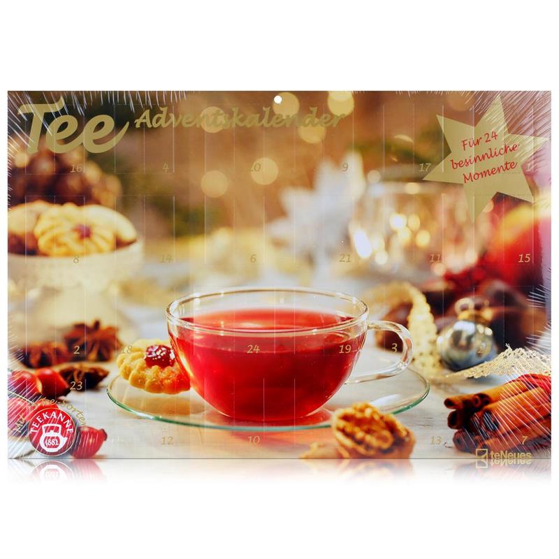 Teekanne Adventskalender - Für 24 besinnliche Momente 51g