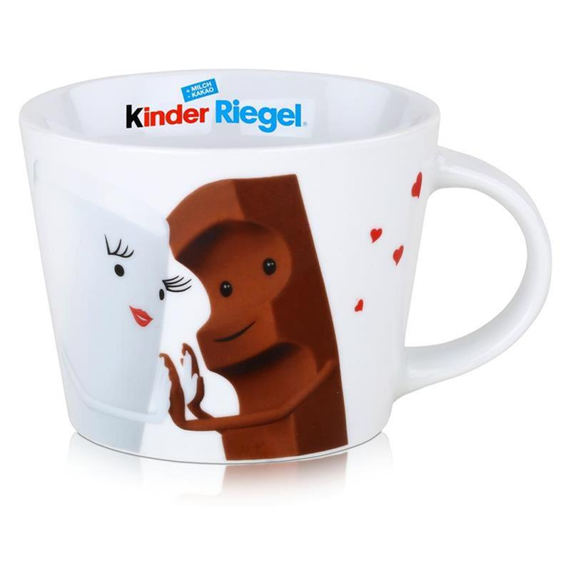 ferrero kinder riegel 10er packung 210g eine sammel tasse 3er pack ebay. Black Bedroom Furniture Sets. Home Design Ideas