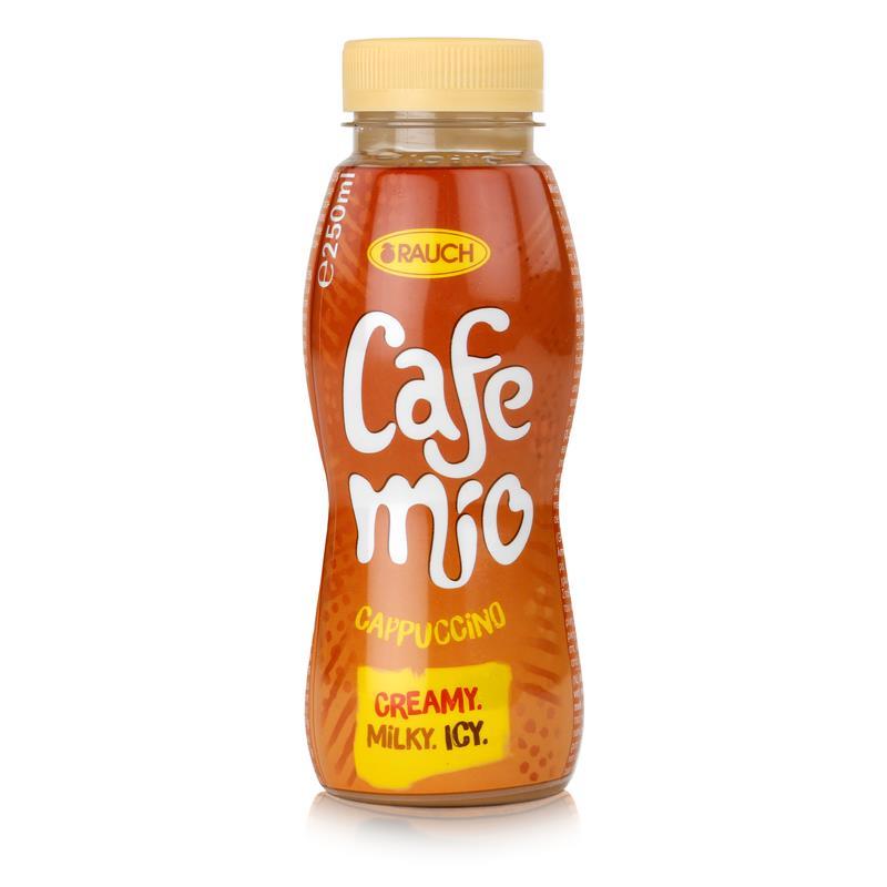 Rauch Cafe mio Cappuccino 250ml ab 49€ gratis dazu