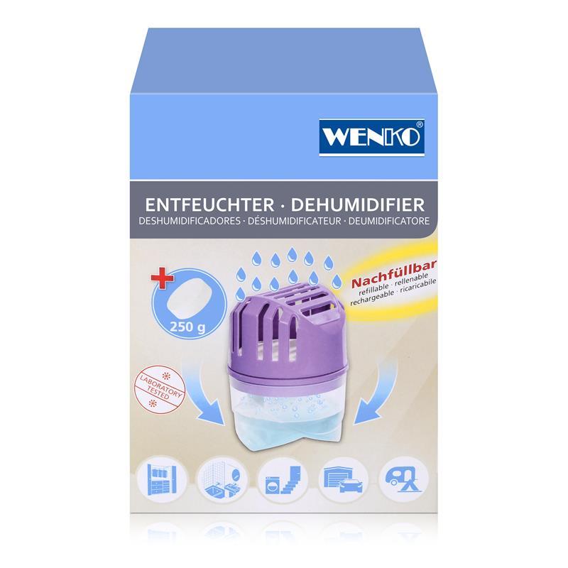 Wenko Luftentfeuchter lila 250g
