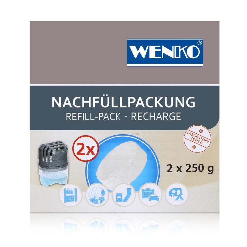 Wenko Entfeuchter Tab Nachfüllpackung 2x250g - 50200100 Raumfeuchter