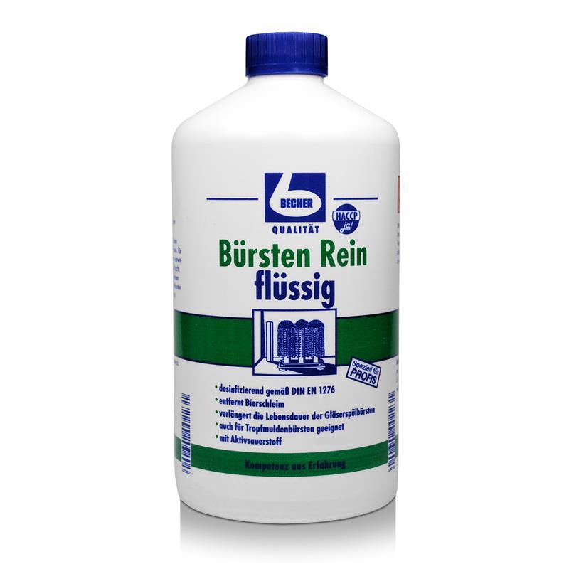 Dr. Becher Bürsten Rein flüssig 1 Liter Reiniger