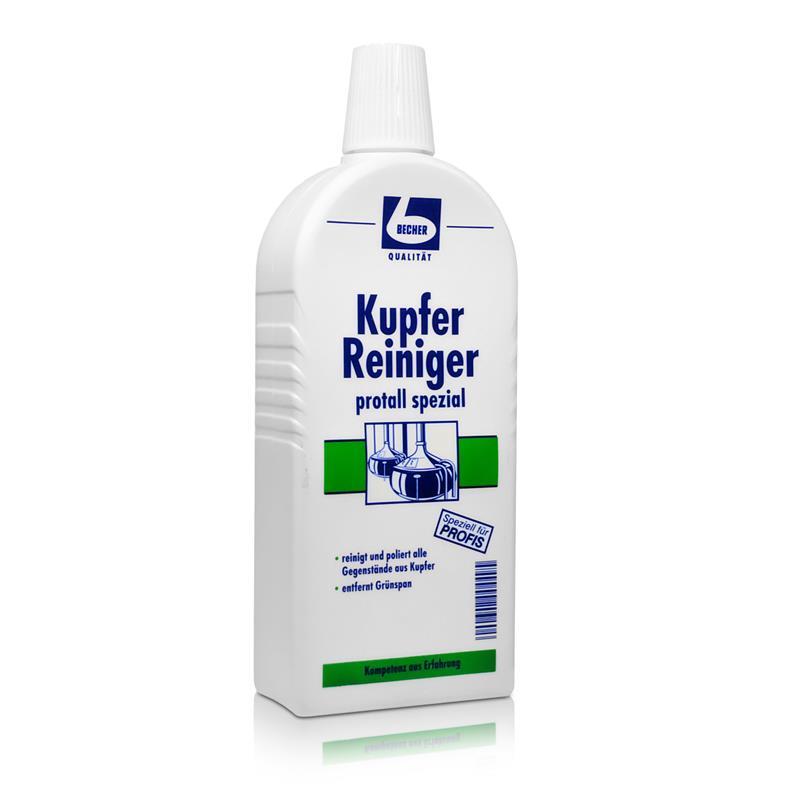Dr. Becher Kupfer Reiniger protall spezial 500 ml