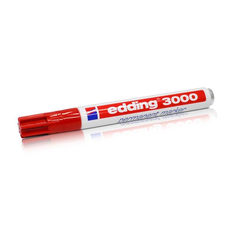 Edding 3000 Permanent Marker rot 1.5 -3 mm